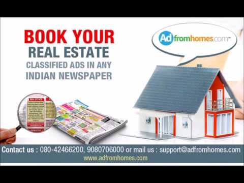 Real estate newspaper ads | Property Classifieds | house for sale advertisement