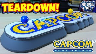 Capcom Home Arcade Teardown & Specs!