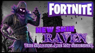NEW RAVEN SKIN & THE FEATHERED FLYER On Fortnite Battle Royale
