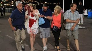 Ницца теракт полное  видео Nice attack full video(Ницца теракт видео (Франция) A truck arrived and smashed into everyone France Nice., 2016-07-15T18:43:07.000Z)