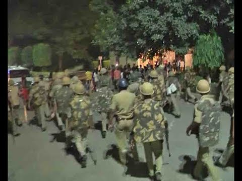 BHU molestation case: Police baton charge protesting students at campus, several injured