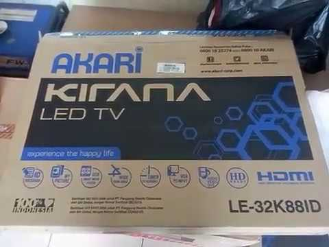 Akari Kirana Led Tv Le 32k88id 2 Youtube