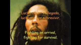 Bob Marley - Buffalo Soldier (+ Letra Sub. Español/Inglés)