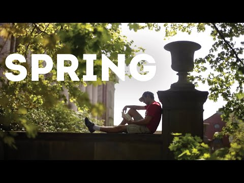 Spring Blooms On Holy Cross Campus