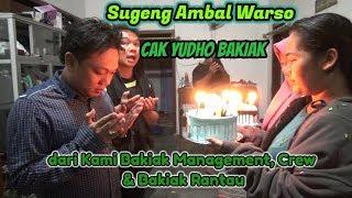 Kejutan Ulang Tahun dari Bakiak Management & Crew untuk Cak Yudho Bakiak
