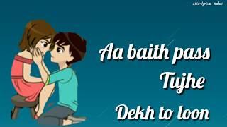 Ye Dil Kyu Toda Whatsapp Status | Nayab Khan