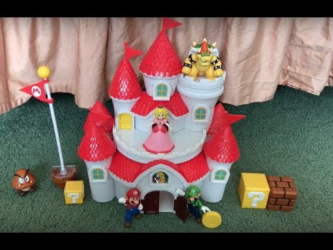 Mushroom Kingdom Castle - World of Nintendo (Jakks Pacific)