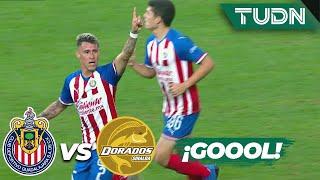 ¡Goool de Chivas! 'Chicote' se reivindica | Chivas 1 - 2 Dorados | Copa MX - 8vos Ida | TUDN
