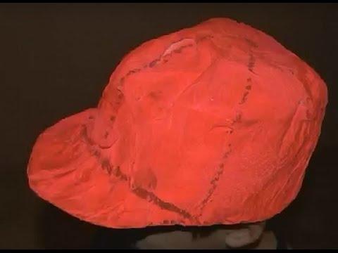 Cómo hacer una gorra con papel de periódico. Fácil. - YouTube 515e501a931