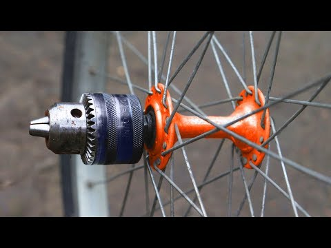 AMAZING! Top 3 Bright Ideas With Bicycle Hub And Drill !