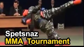 Russian Spetsnaz MMA Tournament - Russian Airborne Troops