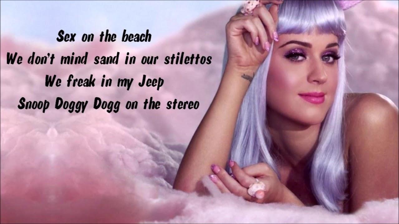 Perry katy california lyrics gurls