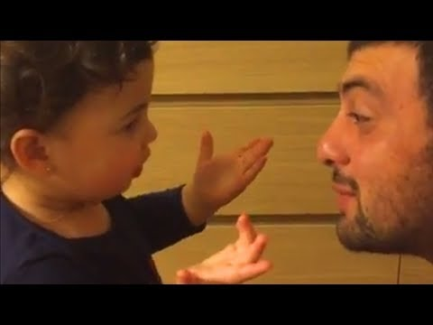 Baby argues with Daddy so angry OVER nothing ? Funny Father and Baby Compilation