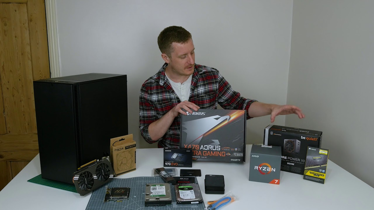 PC Build 2018 - Ryzen 2700x 🖥️🔥