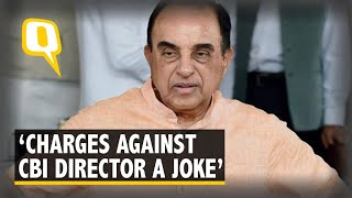 Allegations Against CBI Director Verma a Joke: Subramanian Swamy