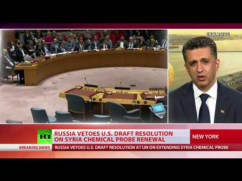 Resolution blocked: Russia vetoes U.S. draft resolution on Syria chemical probe renewal