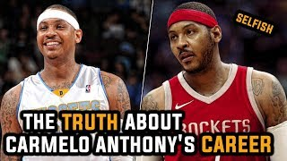 Where Carmelo Anthony went WRONG in his Career!
