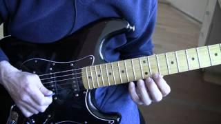 Part 13:  Pride (U2 Guitar Tutorial / Lesson) - Lead Guitar Solo