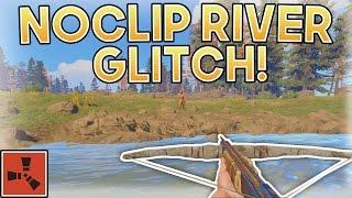 NO-CLIP RIVER GLITCH! | Rust SOLO Gameplay