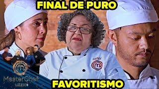 MasterChef México 2018 | Final de puro favoritismo.