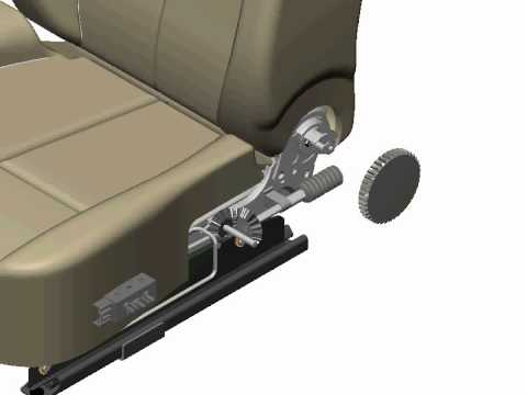 Auto Seat Release Mechanism Design Assembly Instruction Youtube
