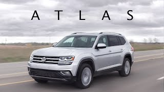 2019 VW Atlas 4MOTION Review - It's Huge