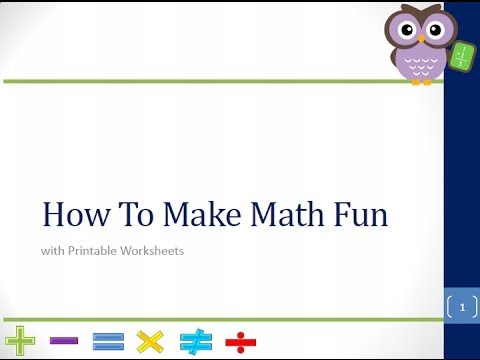 math worksheet : cool math games  how to make math fun with printable worksheets  : How To Make A Math Worksheet