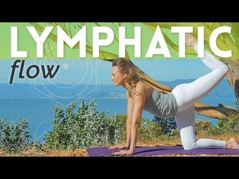 Juicy Lympathic System Massage 💆 Yoga Flow for Lymphatic System - Day 8