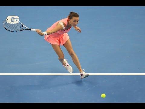 2016 China Open Second Round   Ekaterina Makarova vs Agnieszka Radwanska   WTA Highlights