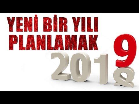 2019 YILI KİŞİSEL GELİŞİM PLANINIZ
