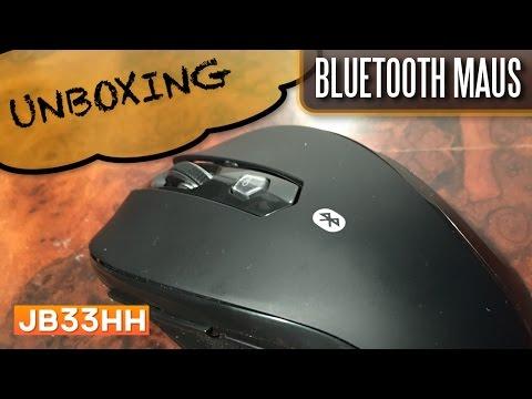 JETech-Bluetooth Maus: Unboxing und Inbetriebnahme