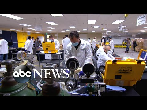 Resources depleted amid America's growing pandemic l ABC News