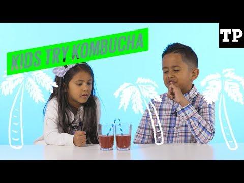 Kids Try Stuff: Kombucha | Kids Try Grown-up Drinks