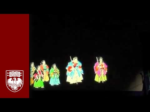 Japanese Magic Lantern Performance