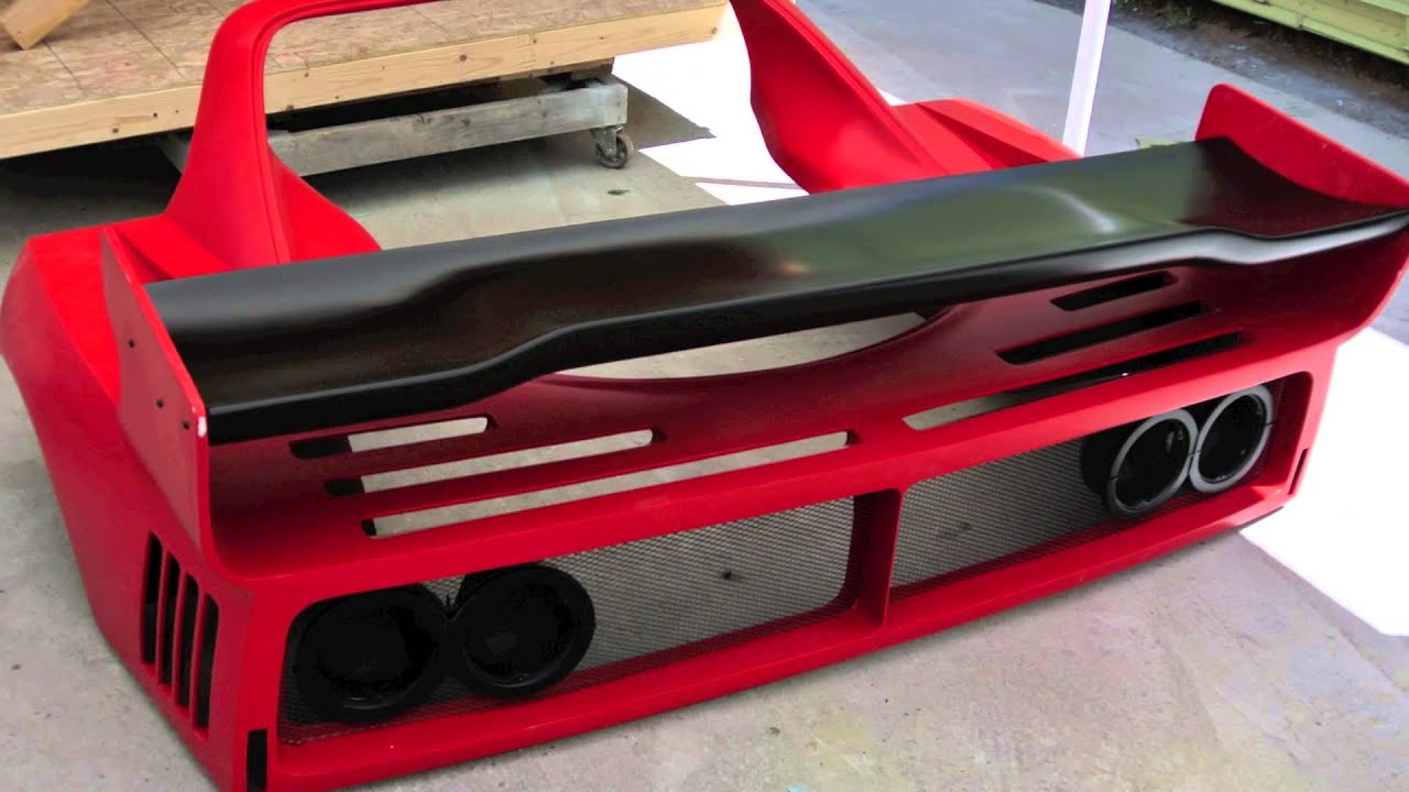 "Ferrari F40 LM parts ""kit"" going to Florida - YouTube"