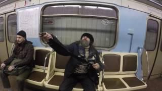 ДО КОНЦА!!!! Очень странный персонаж метро!!! под грибами походу)
