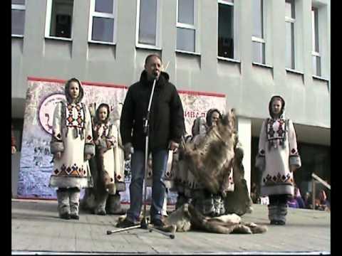 Гендиректора АО ОЛКОН Гнилицкого С.П. на фестивале саамской музыки, Оленегорск.