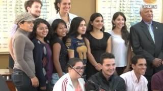 San Marcos da la Bienvenida a sus alumnos de intercambio estudiantil