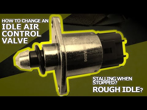 How to Fix a Car that Idles Poorly - Try Changing the IAC Valve! - AKA The Idle Air Control Valve