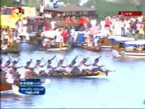 Nehru Trophy Boat Race 2009 Final-Winner Champakulam chundan [ Jesus Boat club, Kollam] .flv