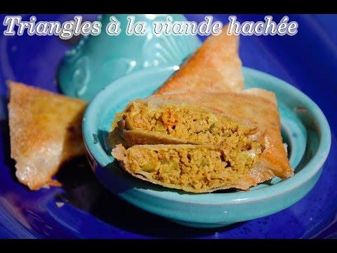 triangles-de-feuilles-de-brick-à-la-viande-hachée-par-quelle-recette-?-episode-49