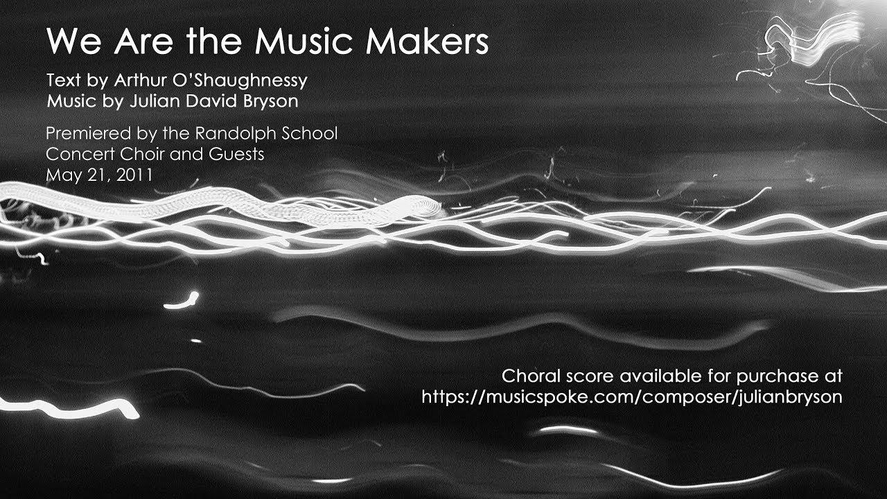 Compositions of Julian David Bryson — Julian David Bryson