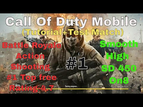 Call Of Duty Mobile   Battle Royale   Action   Shooting Game   Android   Gameplay(Tutorial+match) thumbnail