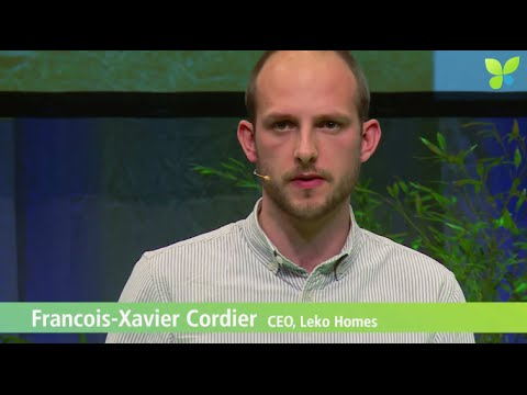 ECO15 Berlin: Francois-Xavier Cordier Leko Homes