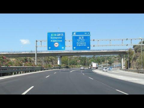 Spain: AP-7 Marbella - Estepona