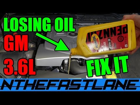 ▶️Losing Oil GM 3.6 How To FIX