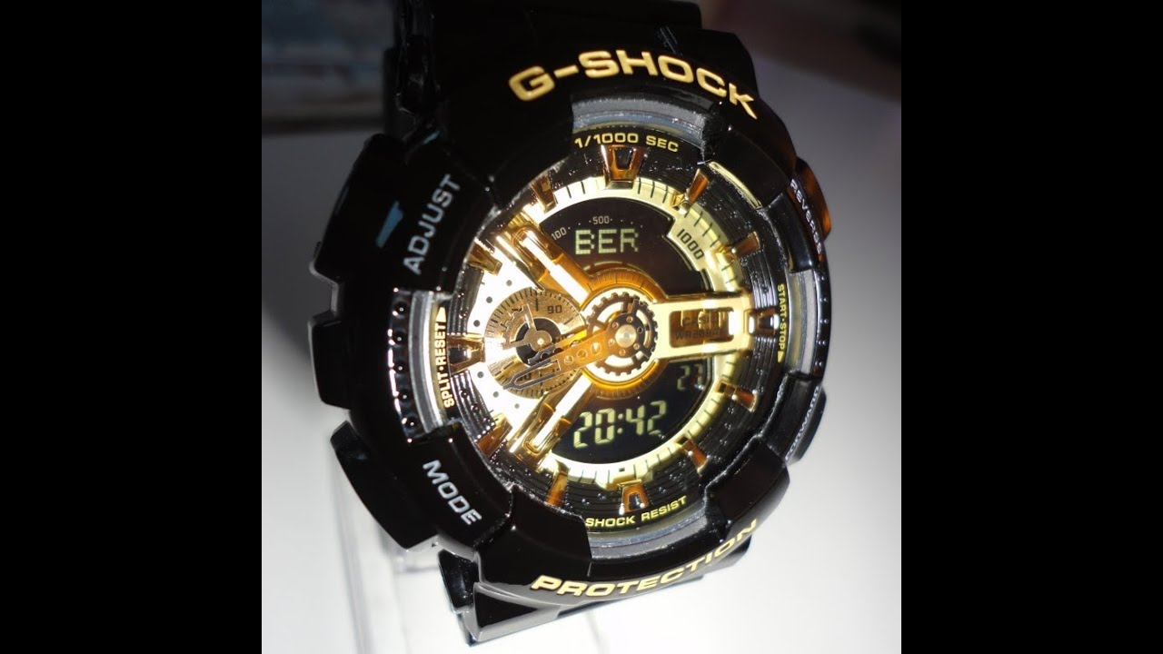 G Shock GA-110GB 1AER UNBOXING by TheDoktor210884