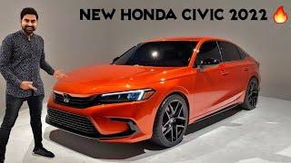 New Honda Civic 2022 Is Here