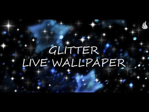 Glitter Live Wallpaper - YouTube