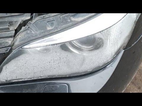 Запотела Фара BMW E60